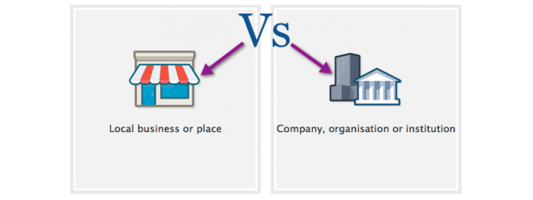 When to Use a Facebook Local Business Page Vs a Company Page